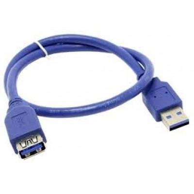 Кабель USB 3.0 удлинитель VCOM Am-Af 0,5m (VUS7065-0.5M)