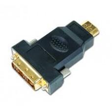 Переходник HDMI-DVI A-HDMI-DVI-1 Gembird HDMI->DVI f-f
