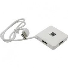 Концентратор USB-хаб 5bites 4 порта белый (HB24-202WH)