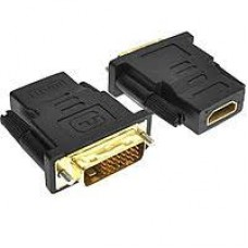 Переходник 5bites <DH1803G>, HDMI->DVI f-m