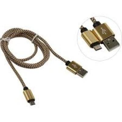 Кабель USB 2.0 AM-microBM 5P Defender USB08-03T USB 2.0, 87474, 1м