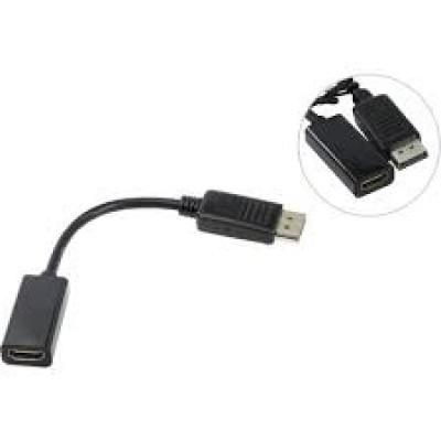 Переходник DisplayPort (m) -> HDMI (f) TV-COM TA553 0.2 метра