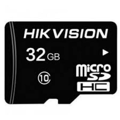 Модуль Micro SD 16 GB HIKVISION <HS-TF-C1-16G/Adapter> <Class 10 SDHC>,  адаптер SD