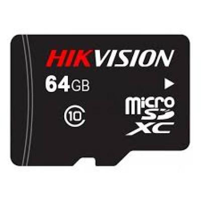Модуль Micro SDXC 64 GB HIKVISION <HS-TF-C1-64G/Adapter> <Class 10 SDHC> U1, адаптер SD