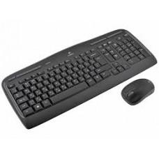 Клавиатура + мышь Logitech Cordless Desktop MK330. USB 920-003995