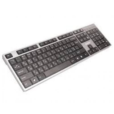 Клавиатура A4Tech KD-300, Silver-Gray, USB