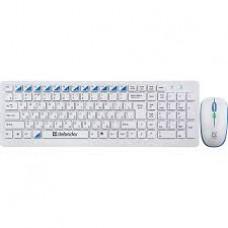 Клавиатура + мышь беспроводные Defender Skyline 895 Nano