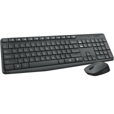 Клавиатура + мышь Logitech Cordless Desktop MK235, USB 920-007948