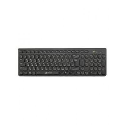 Клавиатура Oklick 880S черный беспроводная slim