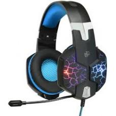 Наушники с микрофоном Oklick HS-L930G SNORTER черный/синий, 2м