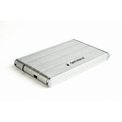 Бокс для жесткого диска Gembird EE2-U3S-5-S Silver