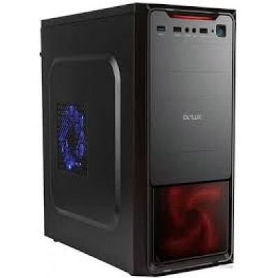 Корпус Delux DLC-MT377  500W black 12 см USB 3.0