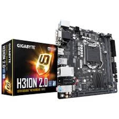 Материнская плата GigaByte GA-H310N 2.0, LGA1151 V2, Mini-ITX