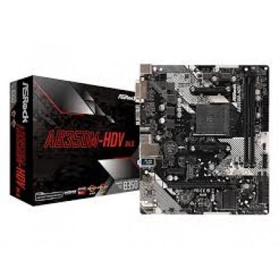 Материнская плата Asrock AB350M-HDV R4.0 AM4 mATX