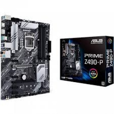 Материнская плата ASUS PRIME Z490-P, LGA1200, ATX