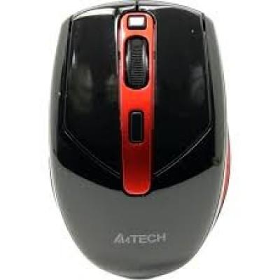 Мышь A4Tech G11-590FX  Wireless, Black\Red