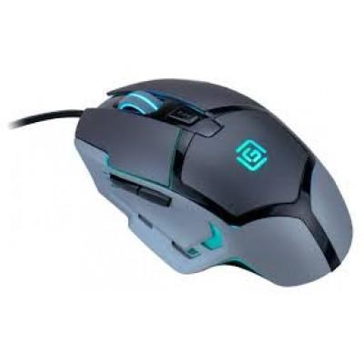 Мышь Oklick 915G HELLWISH V2 черный/серебристый, USB