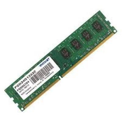 Оперативная память DDR-3 4GB Patriot [PSD34G13332]
