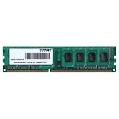 Оперативная память DDR-3 4GB PC-12800 Patriot [PSD34G1600L81]