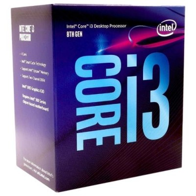 Процессор Intel Core i3-8100 LGA1151 BOX v2