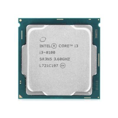 Процессор Intel Core i3-8100 LGA1151 OEM v2