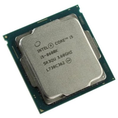 Процессор Intel Core i5-8600K LGA1151 OEM v2 (без кулера)