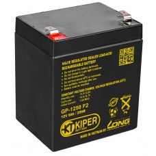 Аккумулятор Kiper GP-1250 (F2)
