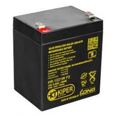 Аккумулятор Kiper HR-1221W F2 (12В/5.5 А·ч)