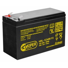 Аккумулятор Kiper HR-1234W F2 (12В/9 А·ч)