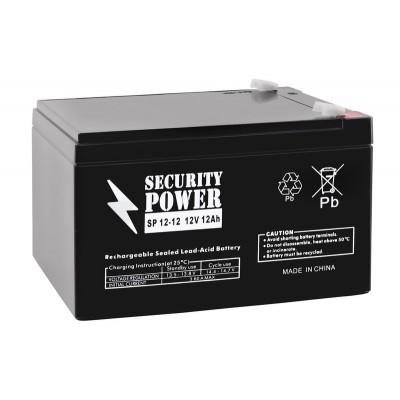 Аккумуляторная батарея 12V 12 Ah Security Power