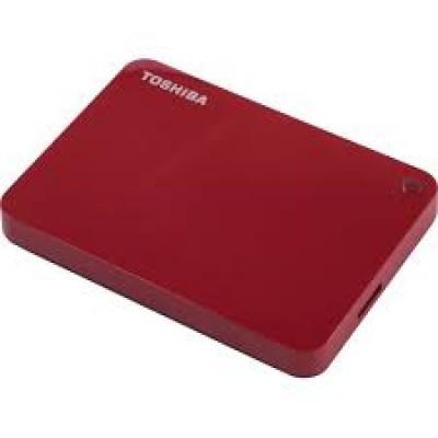 "Внешний жесткий диск 2.5"" 2TB Toshiba [HDTC920ER3AA] Canvio Advance, red"