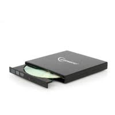 Внешний Привод DVD-RW Gembird DVD-USB-02, Black