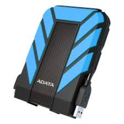 "Внешний жесткий диск 2.5"" 2TB A-Data HD710Pro DashDrive Durable [AHD710P-2TU31-CBL] USB3.0 Blue"