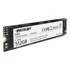 Накопитель SSD Patriot P300 512GB M2 2280 PCIe (P300P512GM28)