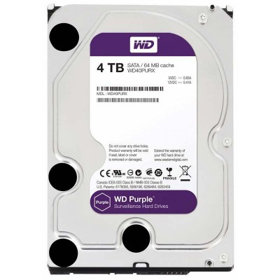 Жесткий диск 2TB WD Purple [WD20PURZ]